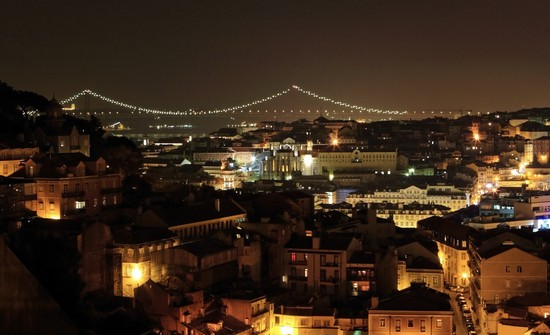 Photo lisbona vista da alfama in Lisbon - Pictures and Images of Lisbon - 550x335  - Author: Editorial Staff, photo 5 of 432