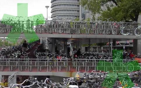 Amsterdam in bicicletta itinerari e escursioni a amsterdam for Affitto bici amsterdam