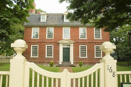 Derby House, Salem (©Jeffrey M. Frank)