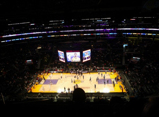 Foto Lakers a Los Angeles - 550x408  - Autore: Paolo, foto 4 di 300