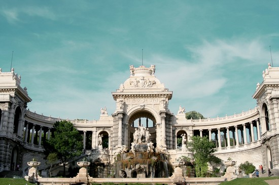 Photo marseille palais et parc longchamp in Marseille - Pictures and Images of Marseille