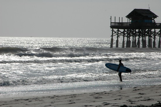 Photo Cocoa Beach Surf in Cocoa Beach - Pictures and Images of Cocoa Beach 