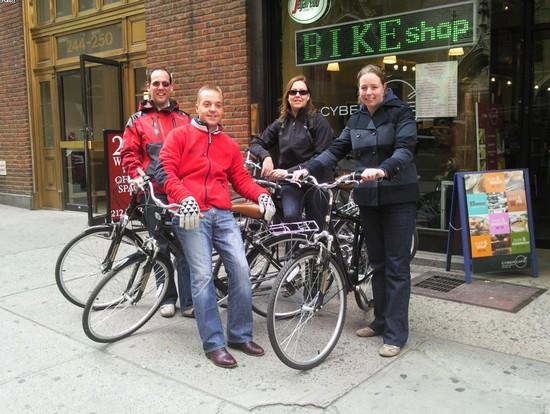CENTRAL PARK BIKE TOUR a NEW YORK