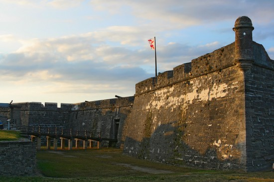 Photo st augustine castillo de san marcos in St Augustine - Pictures and Images of St Augustine
