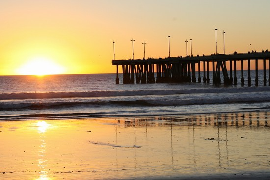 Photo Venice Fishing Pier at Brohard Park in Venice - Pictures and Images of Venice - 550x366  - Author: Laalamani, photo 1 of 1