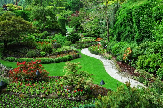 Photo Butchart Gardens in Victoria - Pictures and Images of Victoria