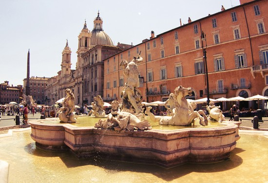 Photo Piazza Navona in Rome - Pictures and Images of Rome