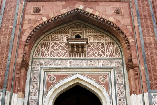 Photo Friday Mosque in Delhi - Pictures and Images of Delhi - 550x366  - Author: Editorial Staff, photo 1 of 60