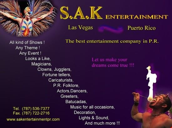 S.A.K Entertainment of Puerto Rico