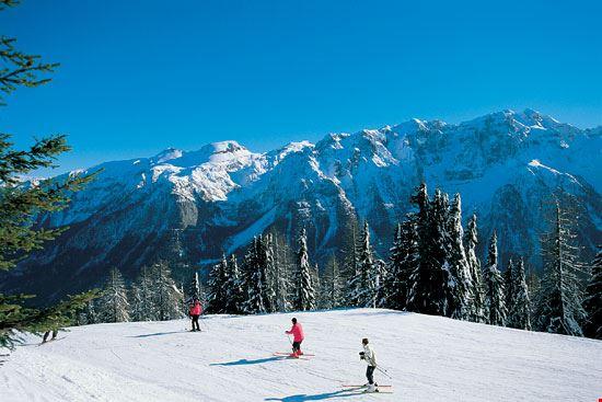 Le Dolimiti di Brenta viste dalla skiarea di Folgarida