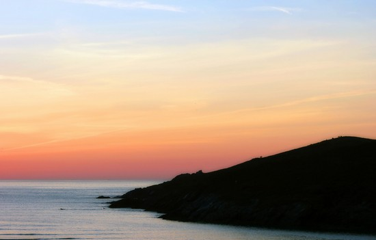 Photo Ocean at sunset in Newquay - Pictures and Images of Newquay