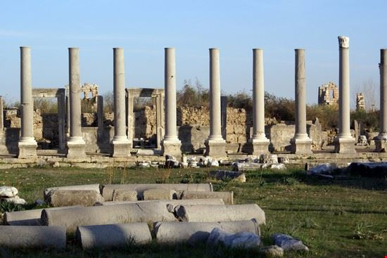 Temple in Perge