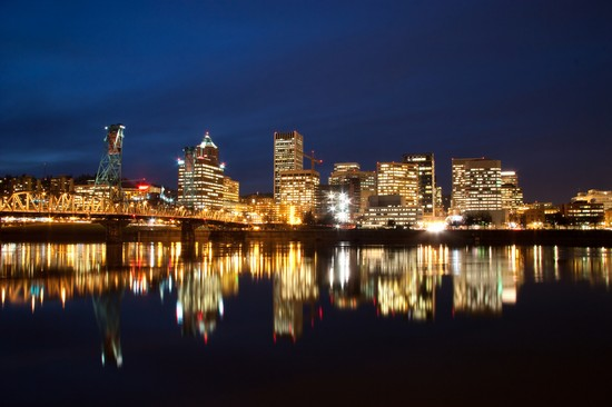 Photo Downtown Portland  in Portland - Pictures and Images of Portland - 550x366  - Author: Laalamani, photo 1 of 12
