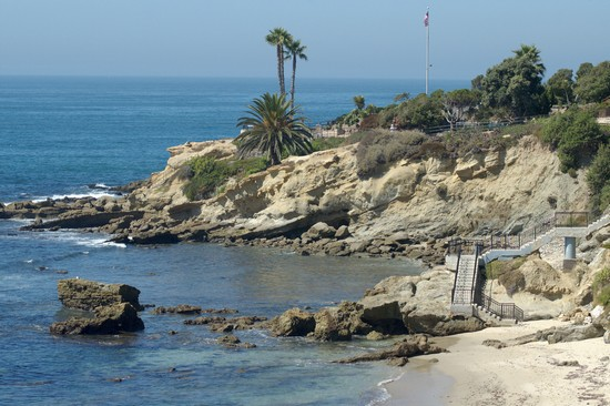 Photo Californian coast in Laguna Beach - Pictures and Images of Laguna Beach