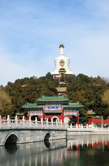 Photo beijing beihai park in Beijing - Pictures and Images of Beijing