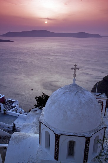 Photo fira aegean sea in Fira - Pictures and Images of Fira