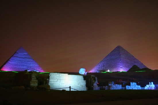 Photo Pyramids  in Cairo - Pictures and Images of Cairo - 550x366  - Author: Laalamani, photo 1 of 168