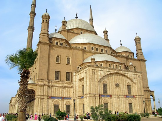 Photo Alabaster Mosque in Cairo - Pictures and Images of Cairo - 550x412  - Author: Laalamani, photo 2 of 134