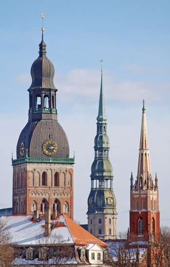 Photo St. Mary's Dome Cathedral in Riga - Pictures and Images of Riga - 349x550  - Author: Laalamani, photo 1 of 118