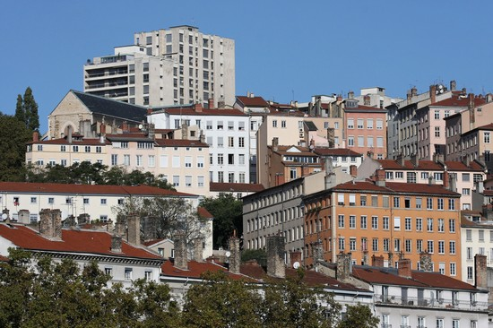 Photo Croix-Rousse in Lyon - Pictures and Images of Lyon - 550x366  - Author: Laalamani, photo 1 of 67