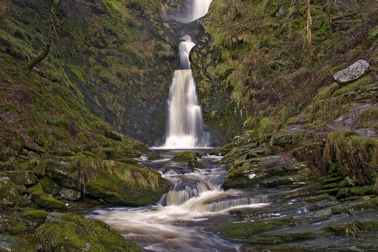 Photo Pistyll Rhaeadr in Powys - Pictures and Images of Powys - 550x366  - Author: Editorial Staff, photo 2 of 3