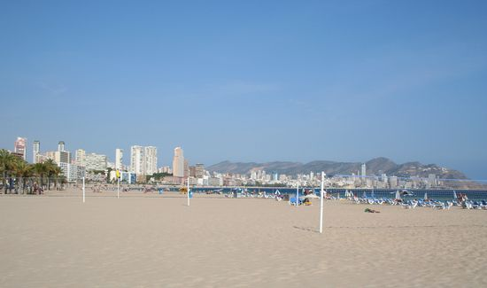 Photo Poniente Beach in Benidorm - Pictures and Images of Benidorm - 550x325 ...