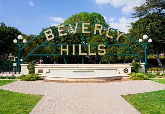 Beverly Gardens In Beverly Hills