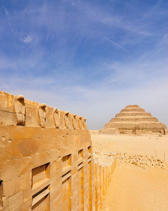 Photo Saqqara pyramids in Cairo - Pictures and Images of Cairo - 550x690  - Author: Editorial Staff, photo 10 of 134