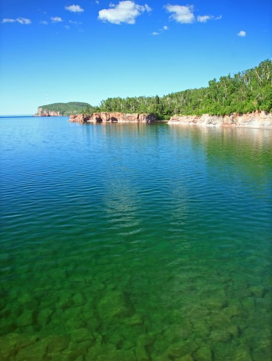 Photo Tettegouche State Park in Silver Bay - Pictures and Images of Silver Bay - 550x730  - Author: Editorial Staff, photo 2 of 3