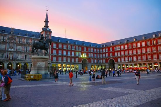 PLAZA MAYOR a MADRID