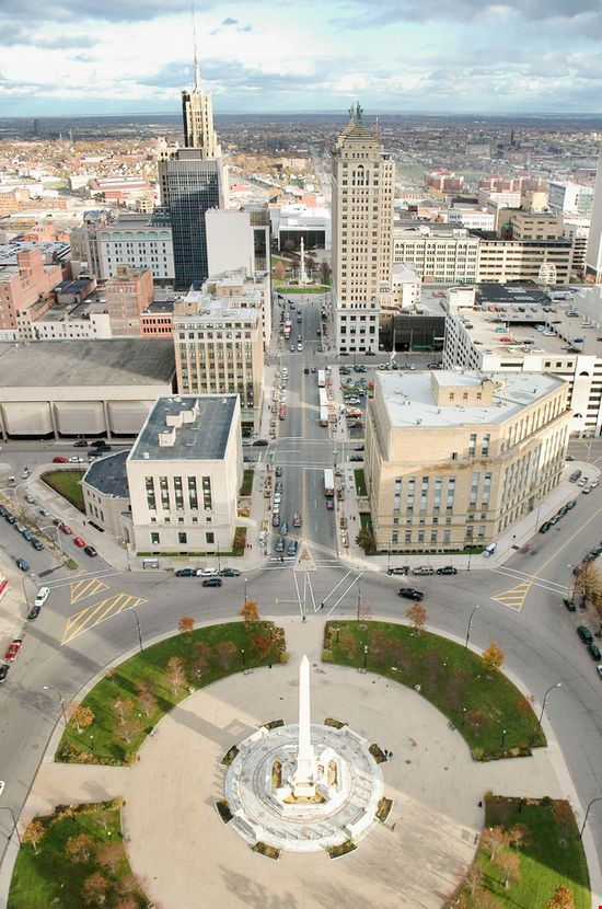 View from Buffalo City Hall