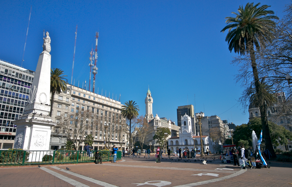 Photo buenos aires plaza de mayo in Buenos Aires - Pictures and Images of Buenos Aires - 1000x641  - Author: Editorial Staff, photo 1 of 226