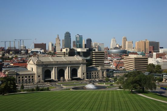 Photo Downtown in Kansas City - Pictures and Images of Kansas City - 550x366  - Author: Editorial Staff, photo 2 of 6