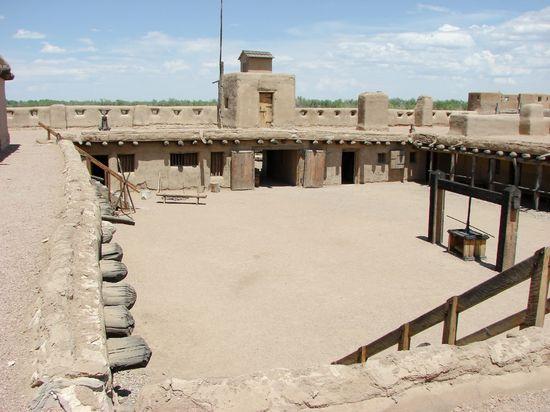 BENT'S OLD FORT NATIONAL HISTORIC SITE a LA JUNTA