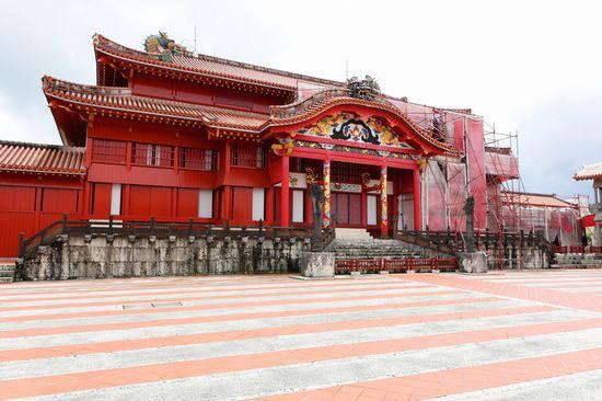 THE SHURI CASTLE a OKINAWA