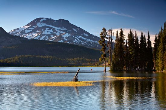 Photo Sparks Lake in Bend - Pictures and Images of Bend