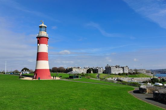 Photo Plymouth Hoe in Plymouth - Pictures and Images of Plymouth - 550x365  - Author: Editorial Staff, photo 3 of 12