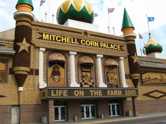 CORN PALACE a MITCHELL