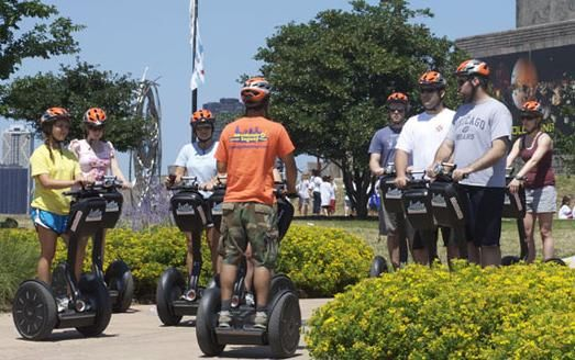 SEGWAY TOUR TO CAMPUS MUSEUM a CHICAGO
