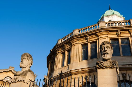 Photo Sheldonian Theater in Oxford - Pictures and Images of Oxford 
