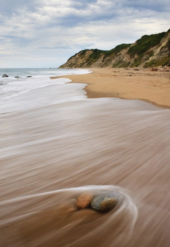 Photo the mohegan bluffs block island in Block Island - Pictures and Images of Block Island