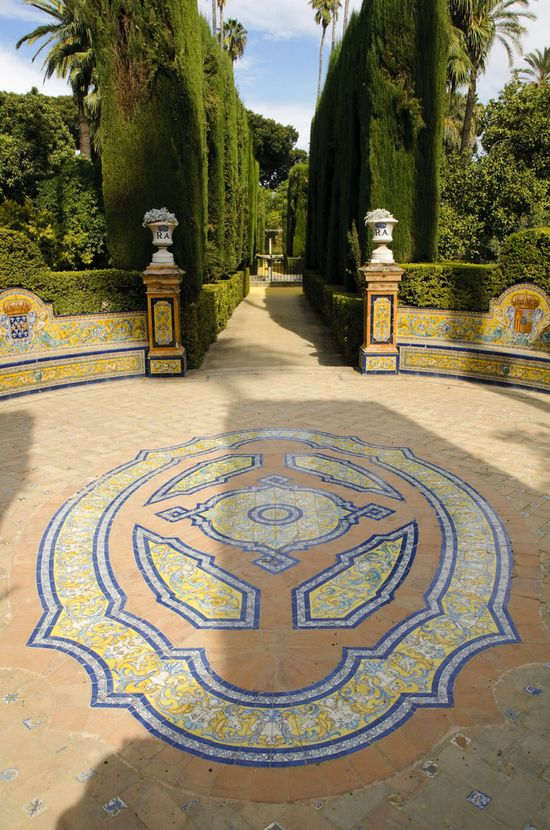 Foto sevilla otra vista desde el jardin a siviglia for El jardin online
