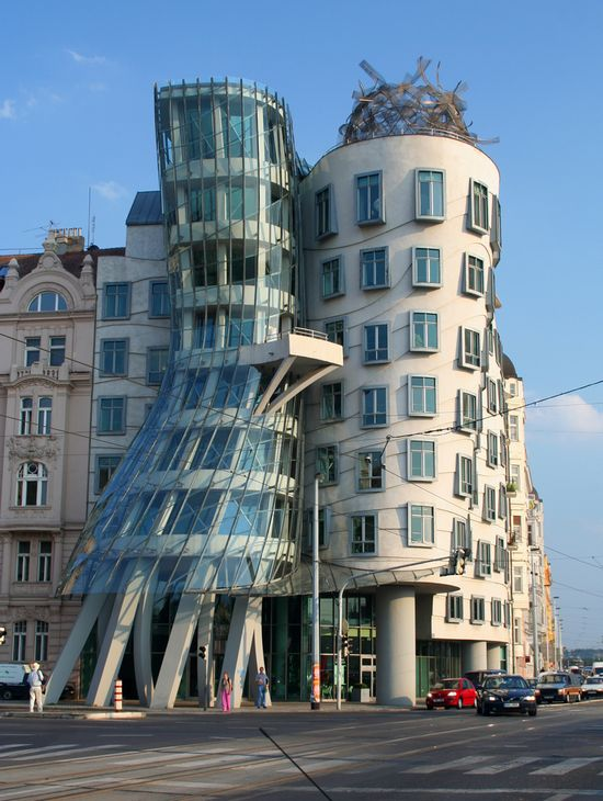 Photo praga dancing house 1 in prague pictures and for Quirky hotels prague