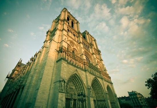 23534 paris aussenansicht der famosen cathedrale notre dame de paris