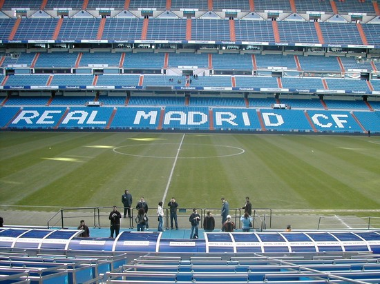 ESTADIO SANTIAGO BERNABEU a MADRID