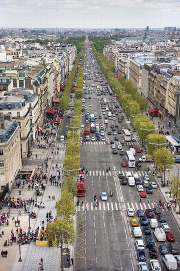 Photo paris les champs elysees in paris pictures and images of paris 367x - H m les champs elysees ...
