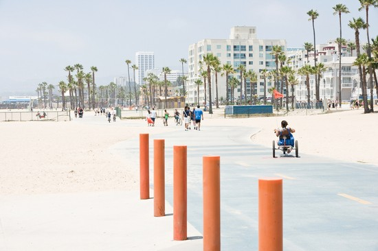 Photo los angeles venice beach boardwalk in Los Angeles - Pictures and Images of Los Angeles - 550x366  - Author: Sven, photo 2 of 299