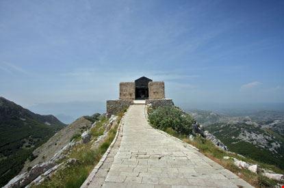 Il Mausoleo di Lovcen