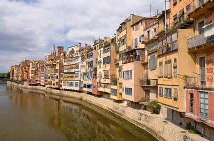 Photo Cases penjades in Girona - Pictures and Images of Girona