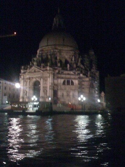 Photo canal grande di notte venezia in Venice - Pictures and Images of Venice